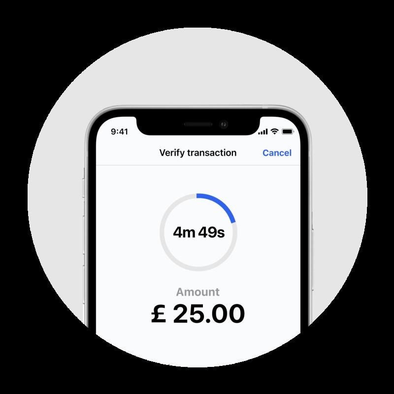 Image of 3D Secure payment verification
