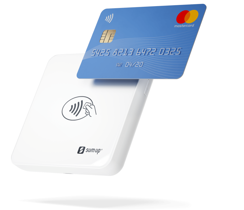 Air US card reader with NFC card