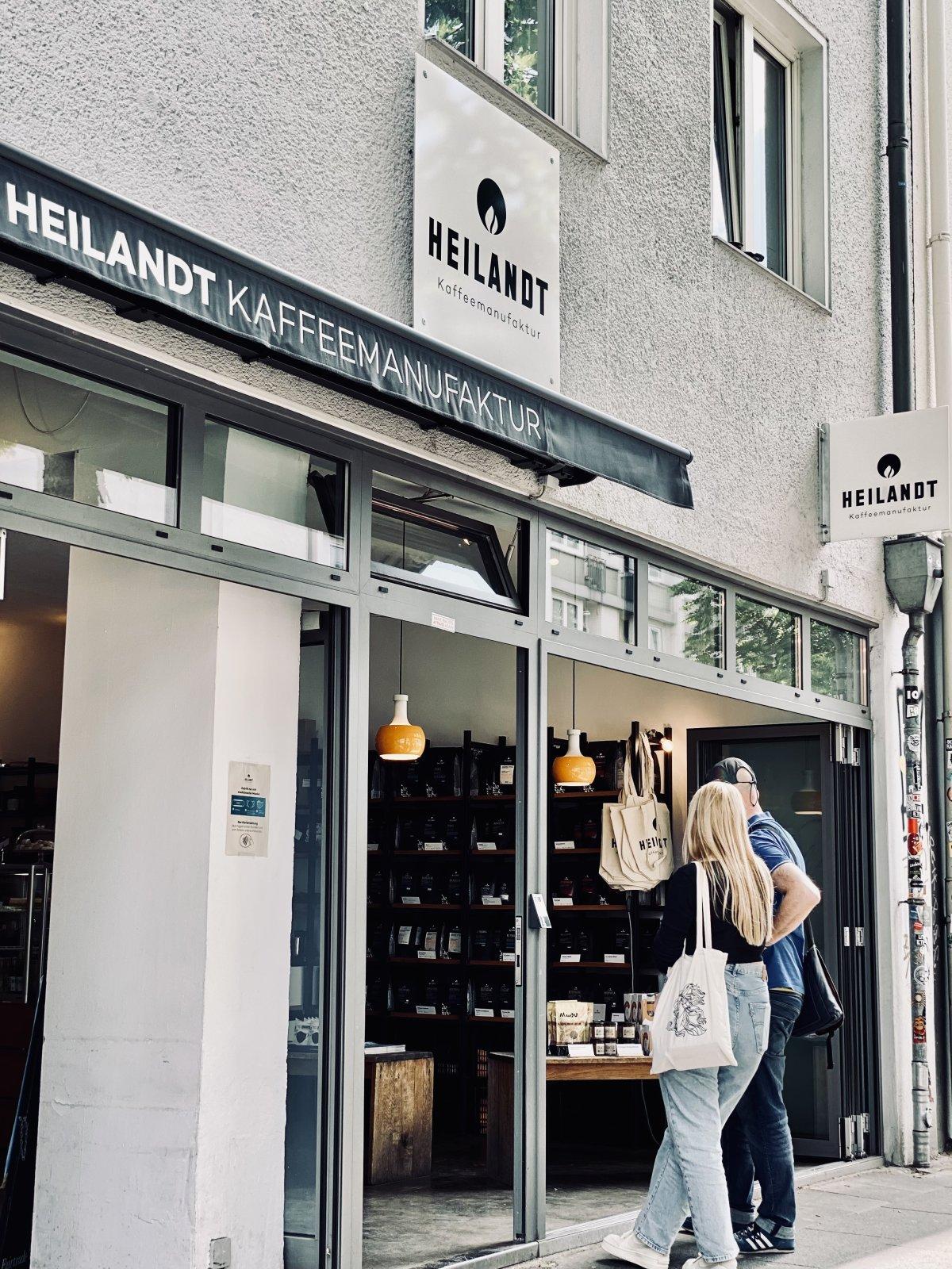 Filiale der Kaffemanufaktur Heilandt in Köln Sülz