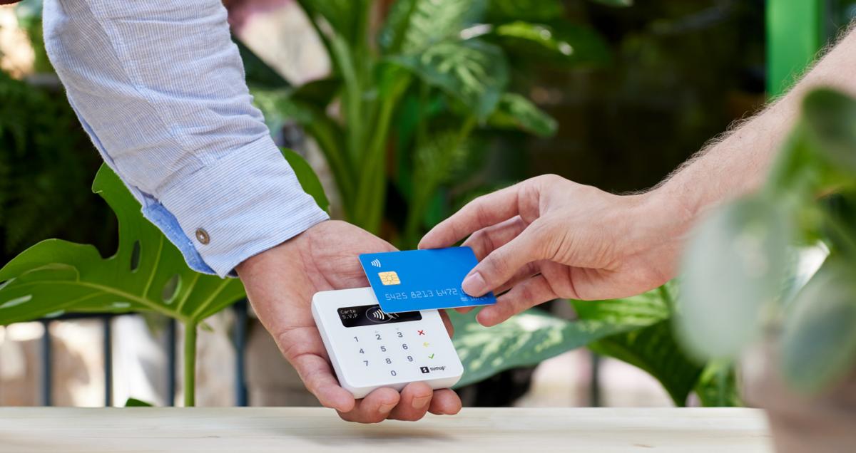 SumUp credit card machine