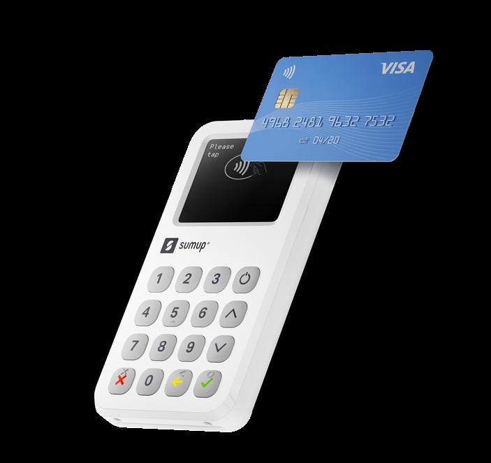 SumUp 3G card reader
