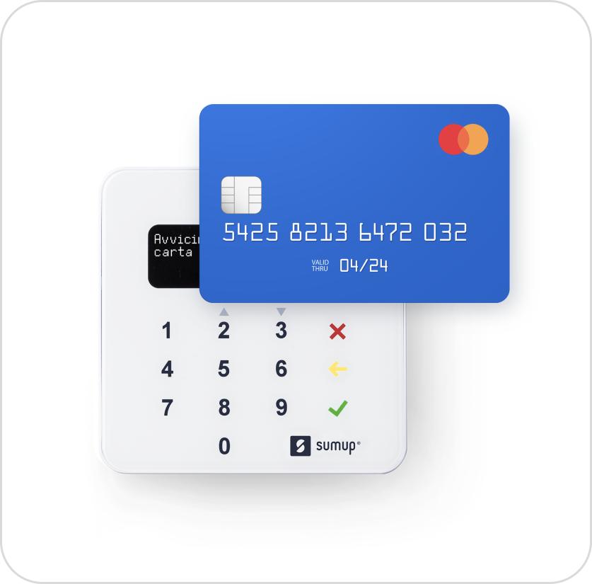 Accetta pagamenti con il SumUp Air