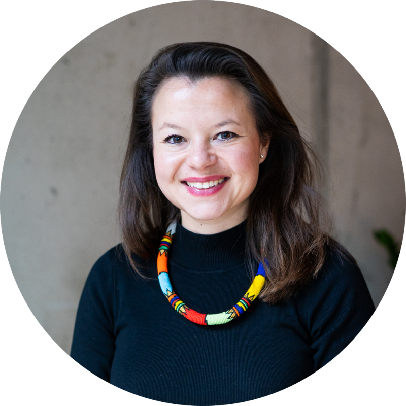 Portrait of SumUp's Global Head of Diversity & Inclusion –Felizitas Lichtenberg