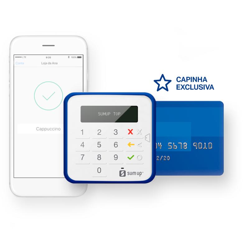 SumUp Top: maquina de cartão no celular