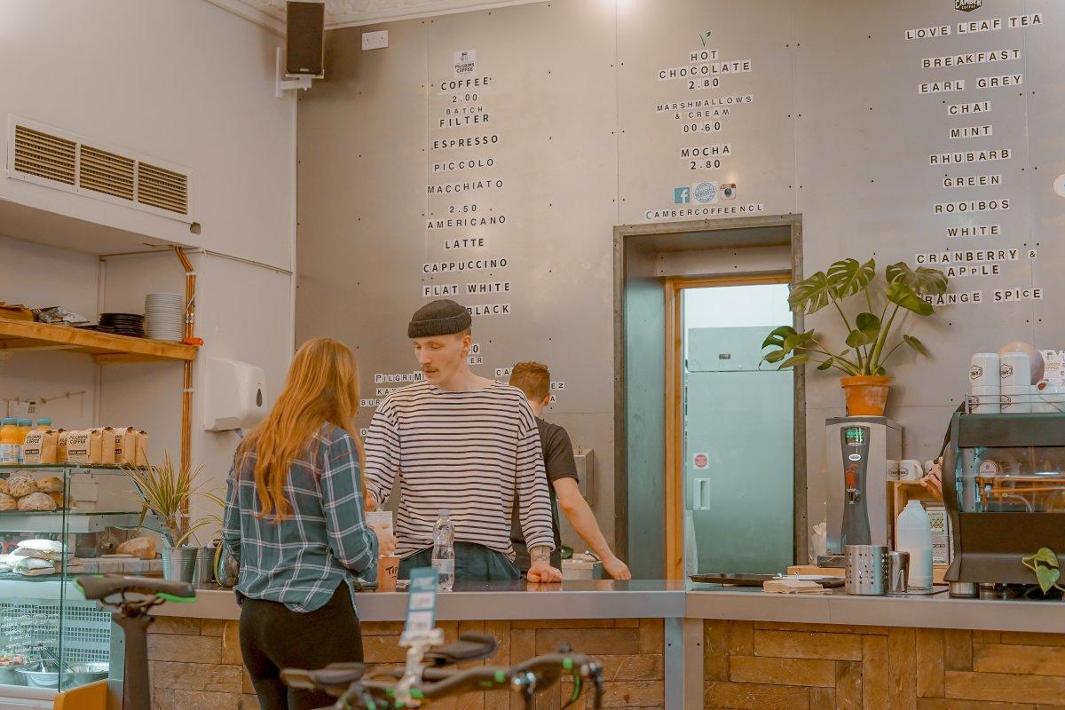 man-working-cafe