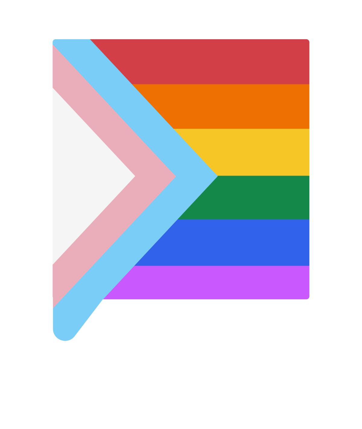 Infographic photo of LGBTQ+ representation at SumUp