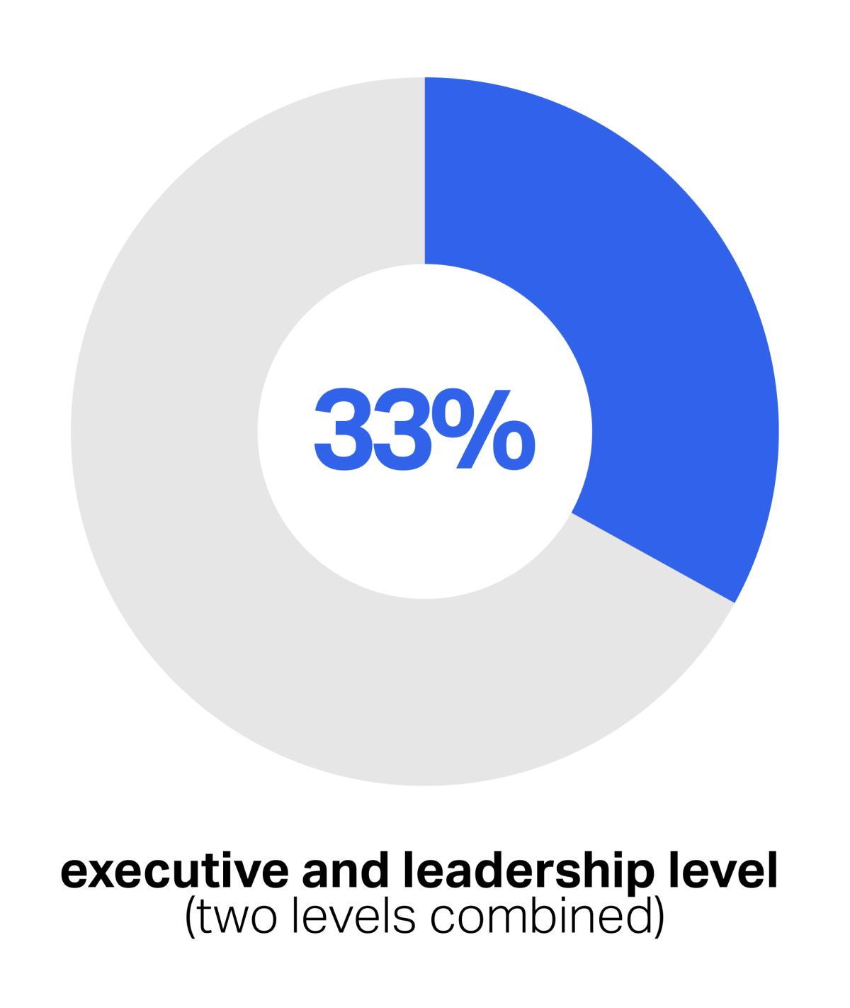 Gender representation at SumUp infographic