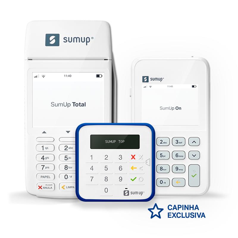 Aceite cartões sem aluguel e com as menores taxas com as máquinas SumUp