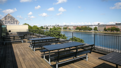Photo of Copenhagen office terrace - SumUp - Debitoor