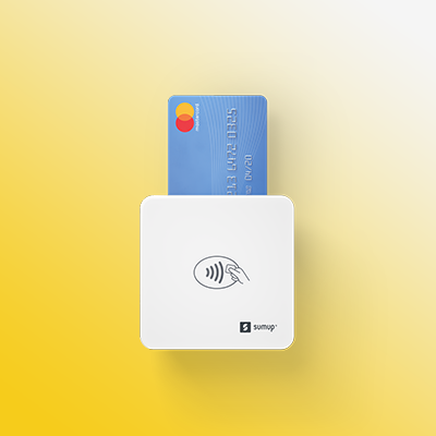 The SumUp Air Lite Card Reader enables small businesses to accept credit, debit and contactless payments.