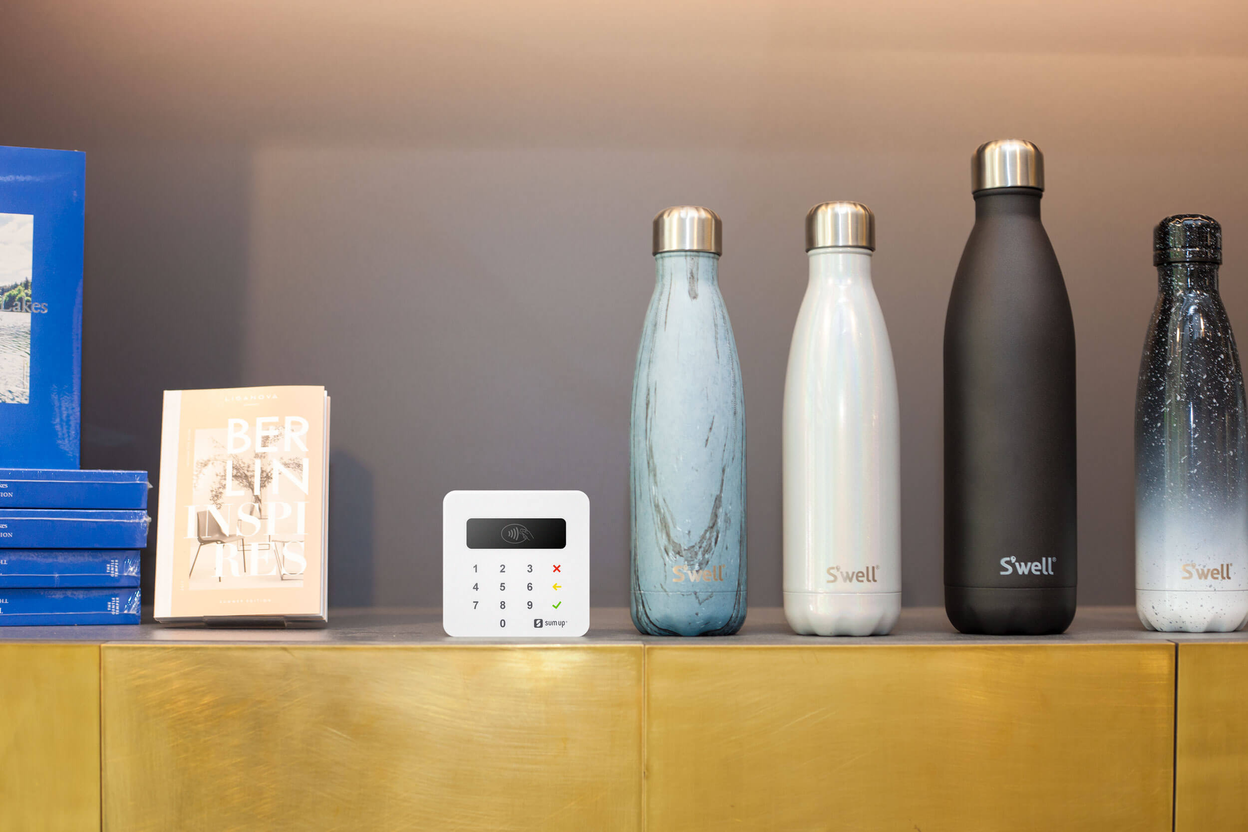 becycle-water-bottles-and-card-reader