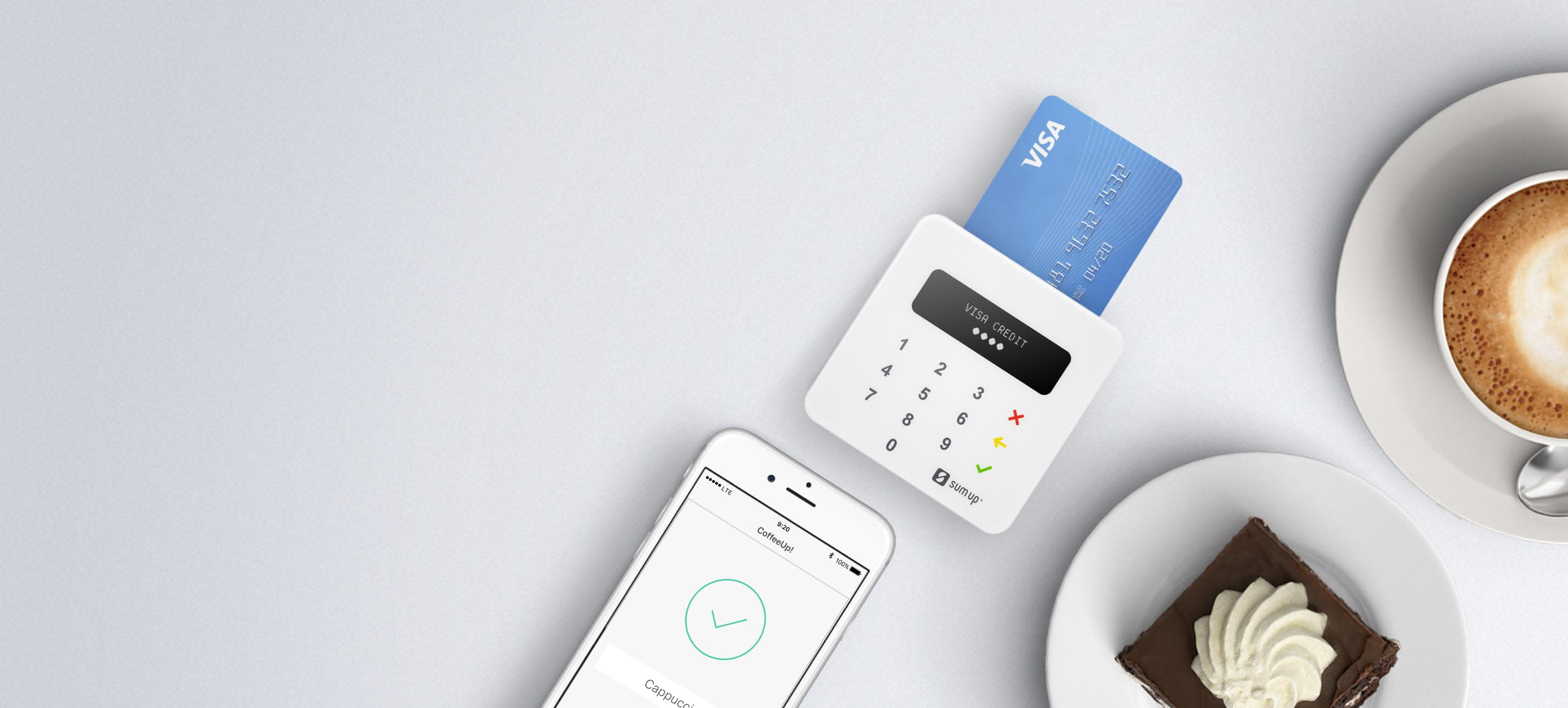 Credit card reader mobile solution for iphone android or ipad the credit card reader that fits in your pocket and suits your pocket reheart Image collections
