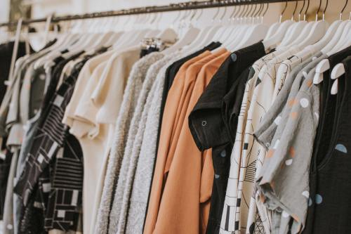 Photo of online product clothing hanging