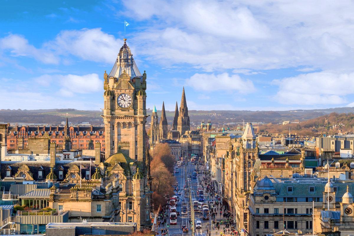 Edinburgh-skyline