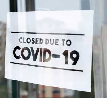 Shine Lawyers | Closed due to coronavirus sign | Shine Lawyers