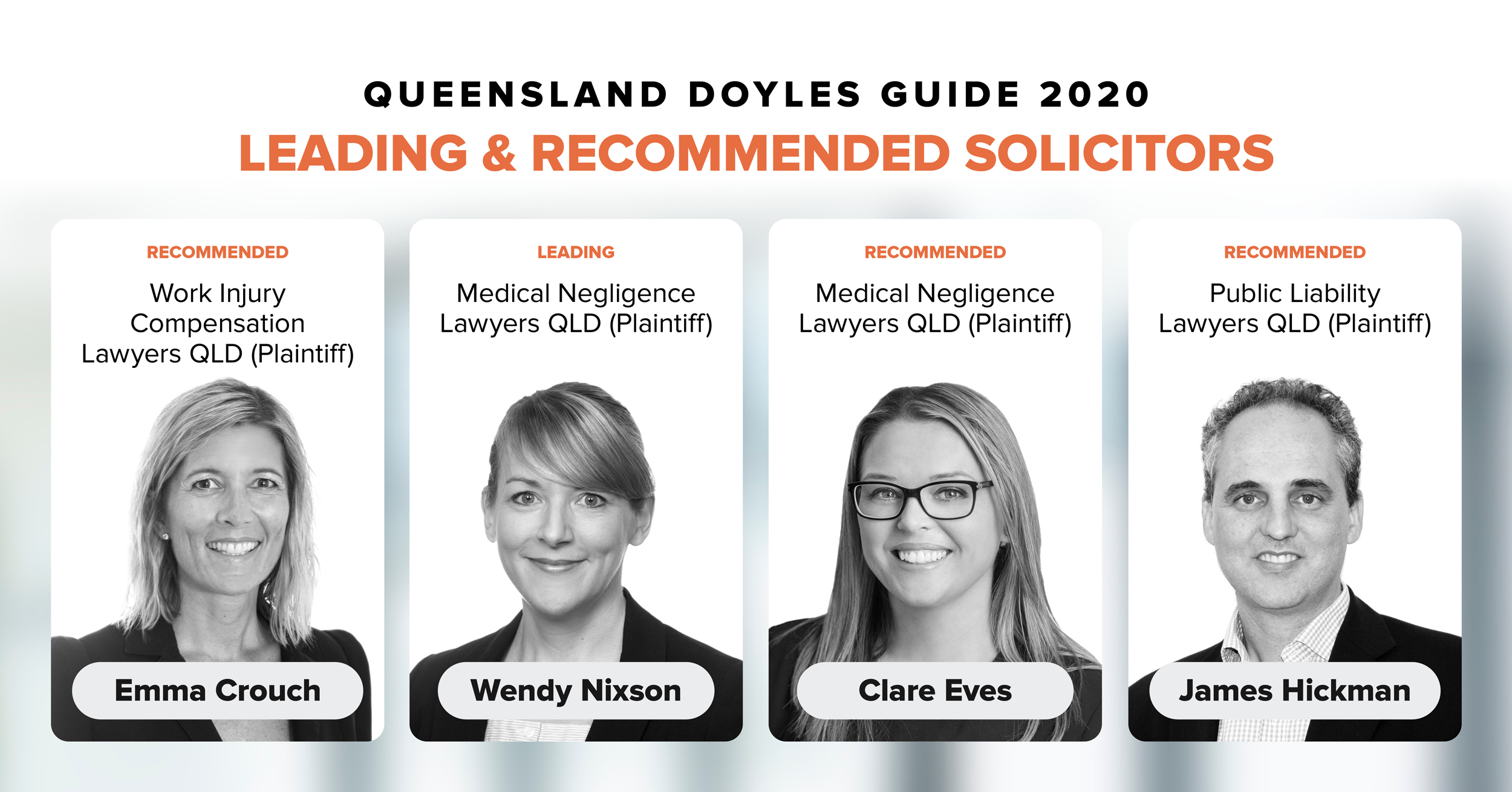 Doyles Guide QLD Leading Lawyers 2020