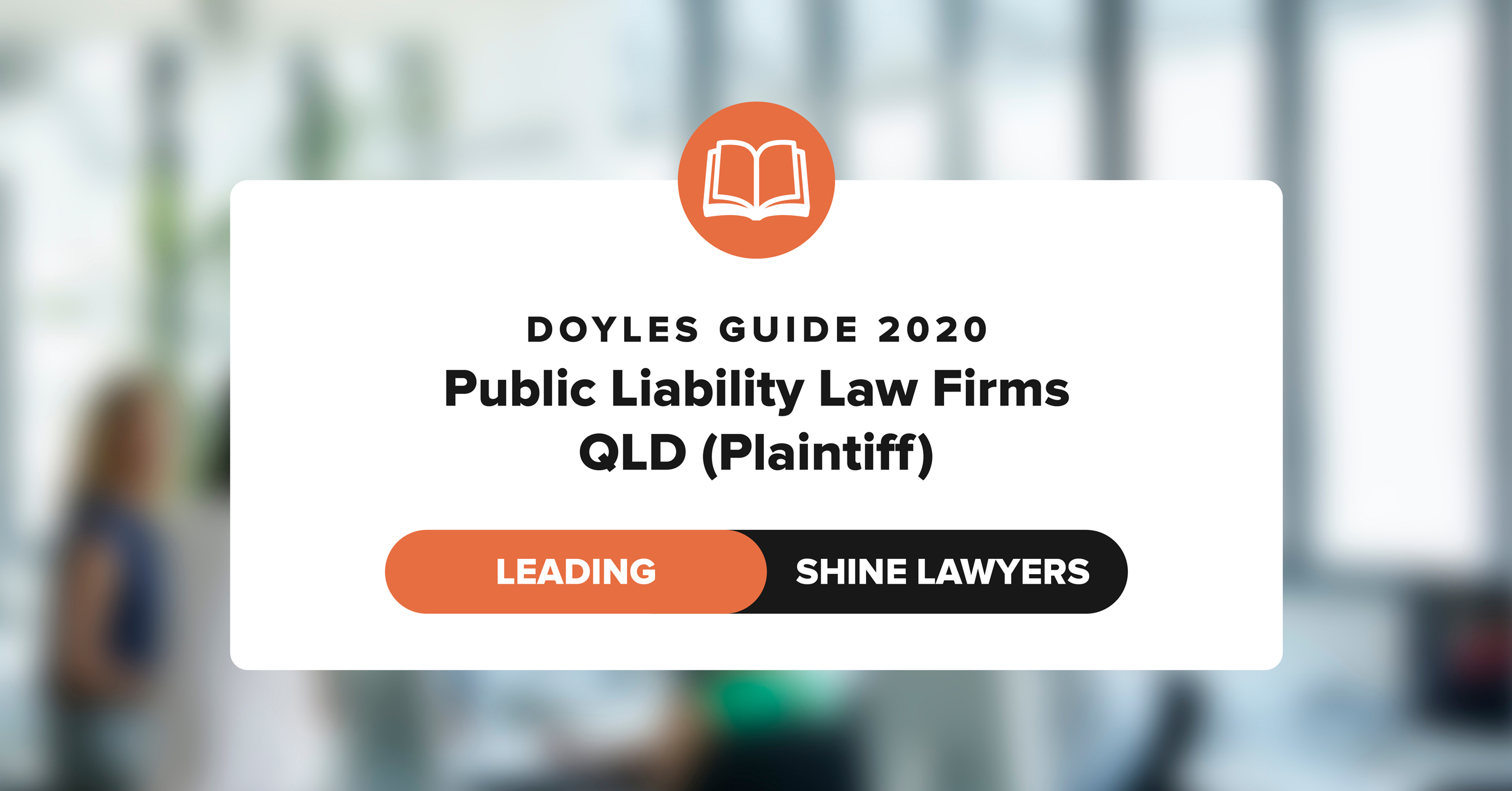 Doyles Guide 2020 Leading Public Liability Law Firm QLD