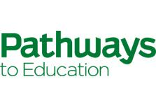 logo for pathways to education charity