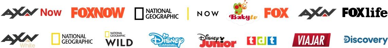 Más de 10.000 horas de series, películas y documentales - MASMOVIL TV NUEVA todos los logos