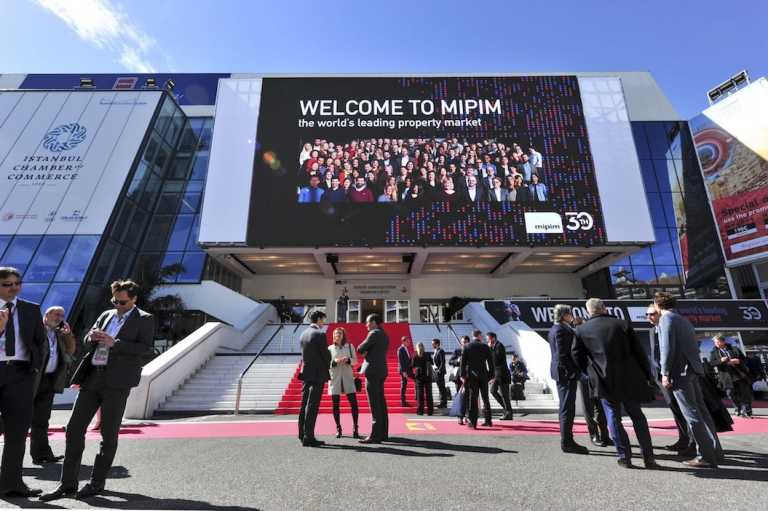 Photography of entrance to MIPIM