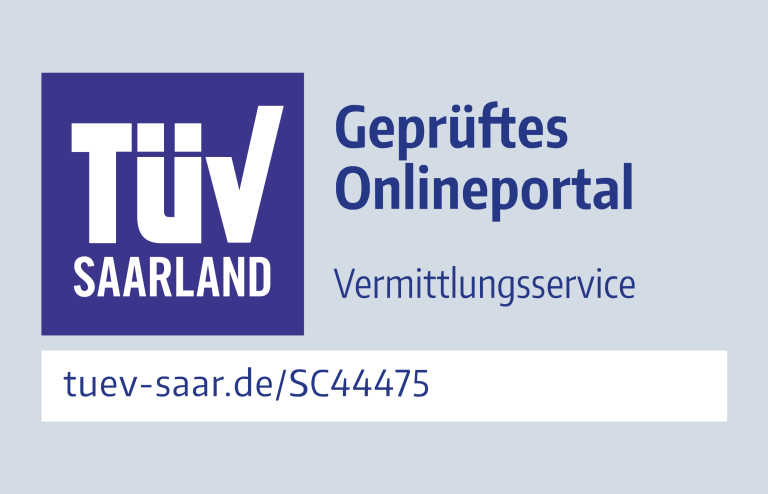 Official sign for TÜV audit.