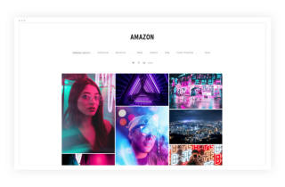 Amazon-photography-website-template