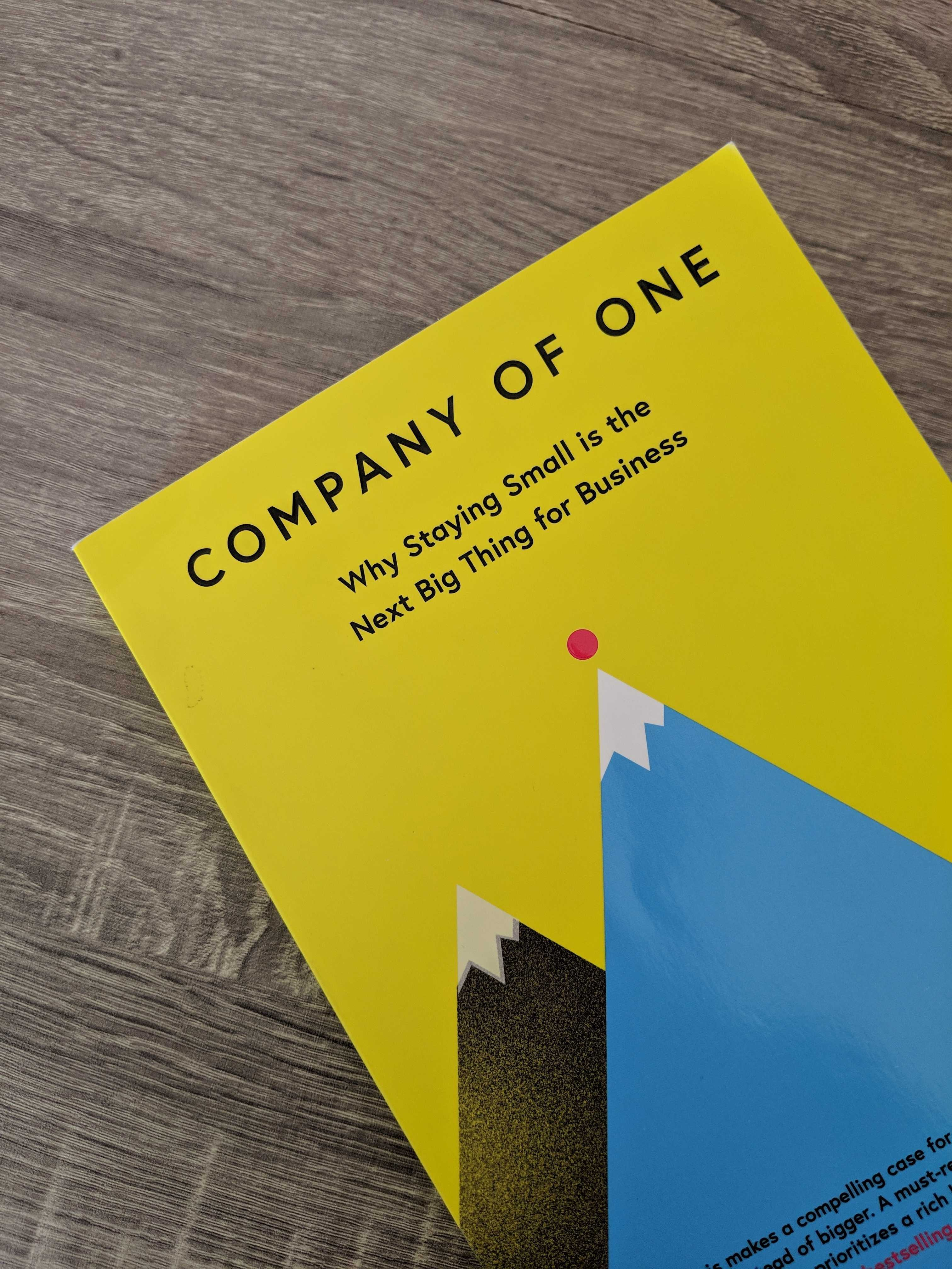Company Of One book