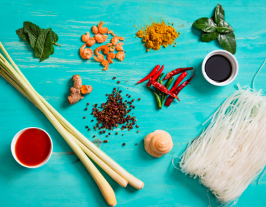 Most common Thai food ingredients