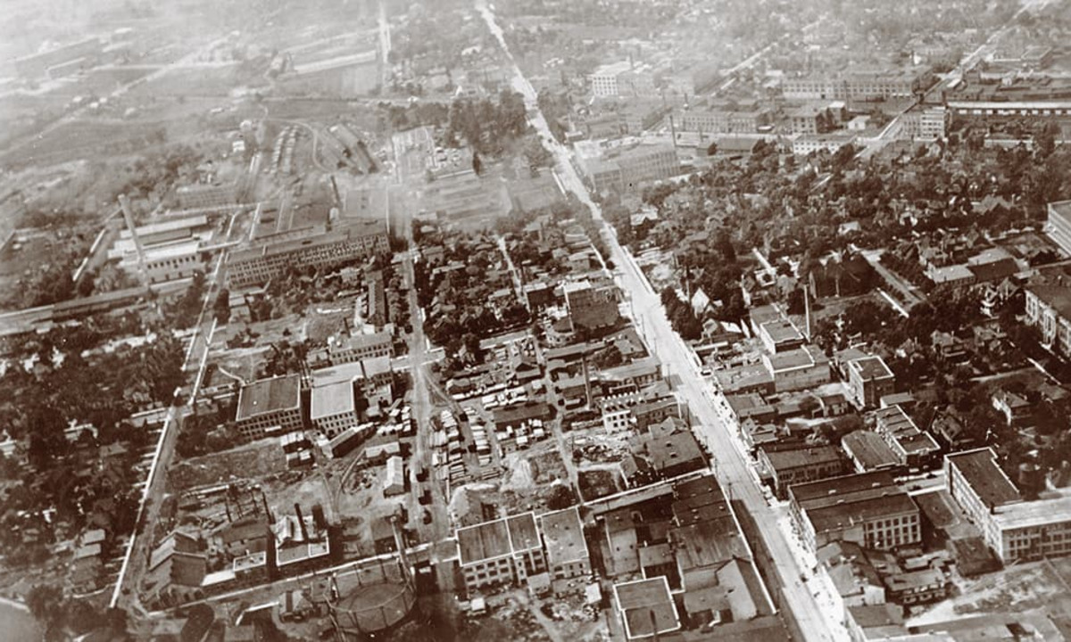 Overhead photo of Old Berlin