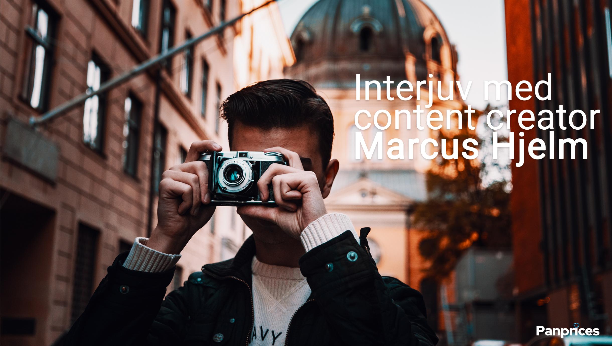 Intervju med content creator Marcus Hjelm