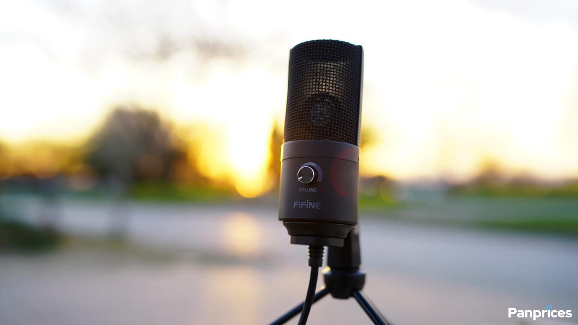 En titt på Fifine K669 USB-mikrofon