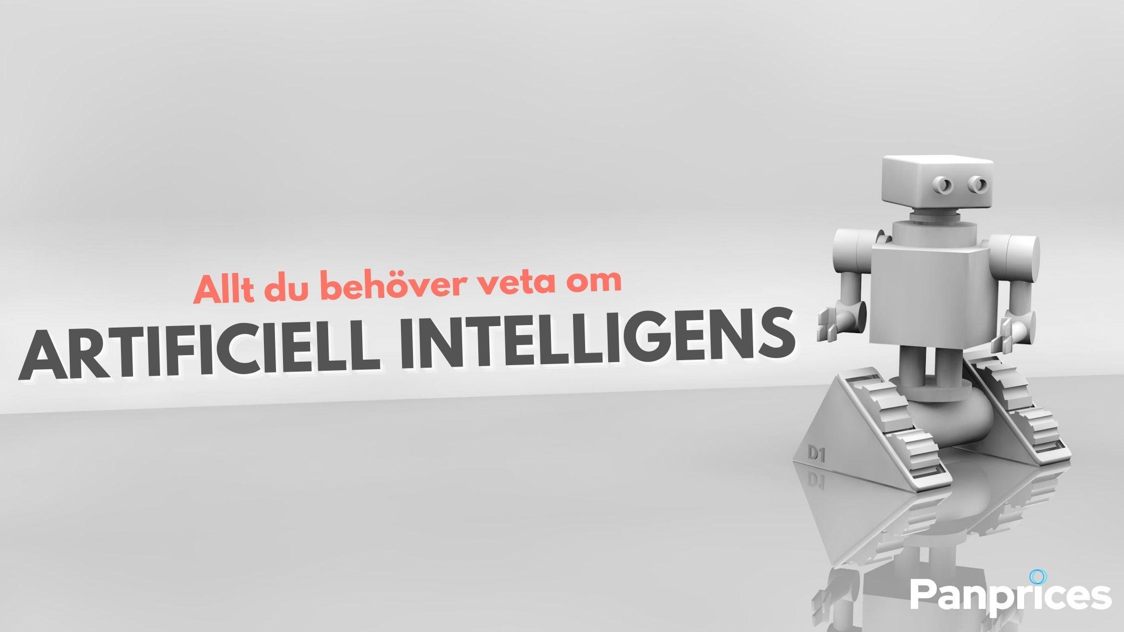 Allt du behöver veta om Artificiell Intelligens - Del 1