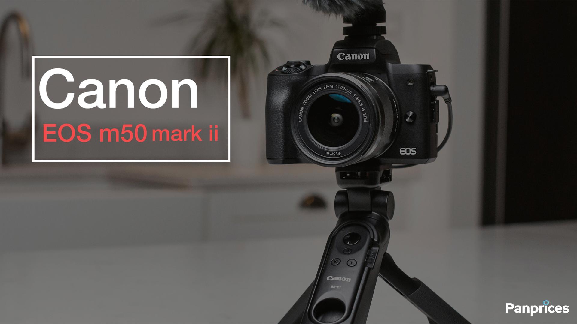 Nya Canon m50 mark ii