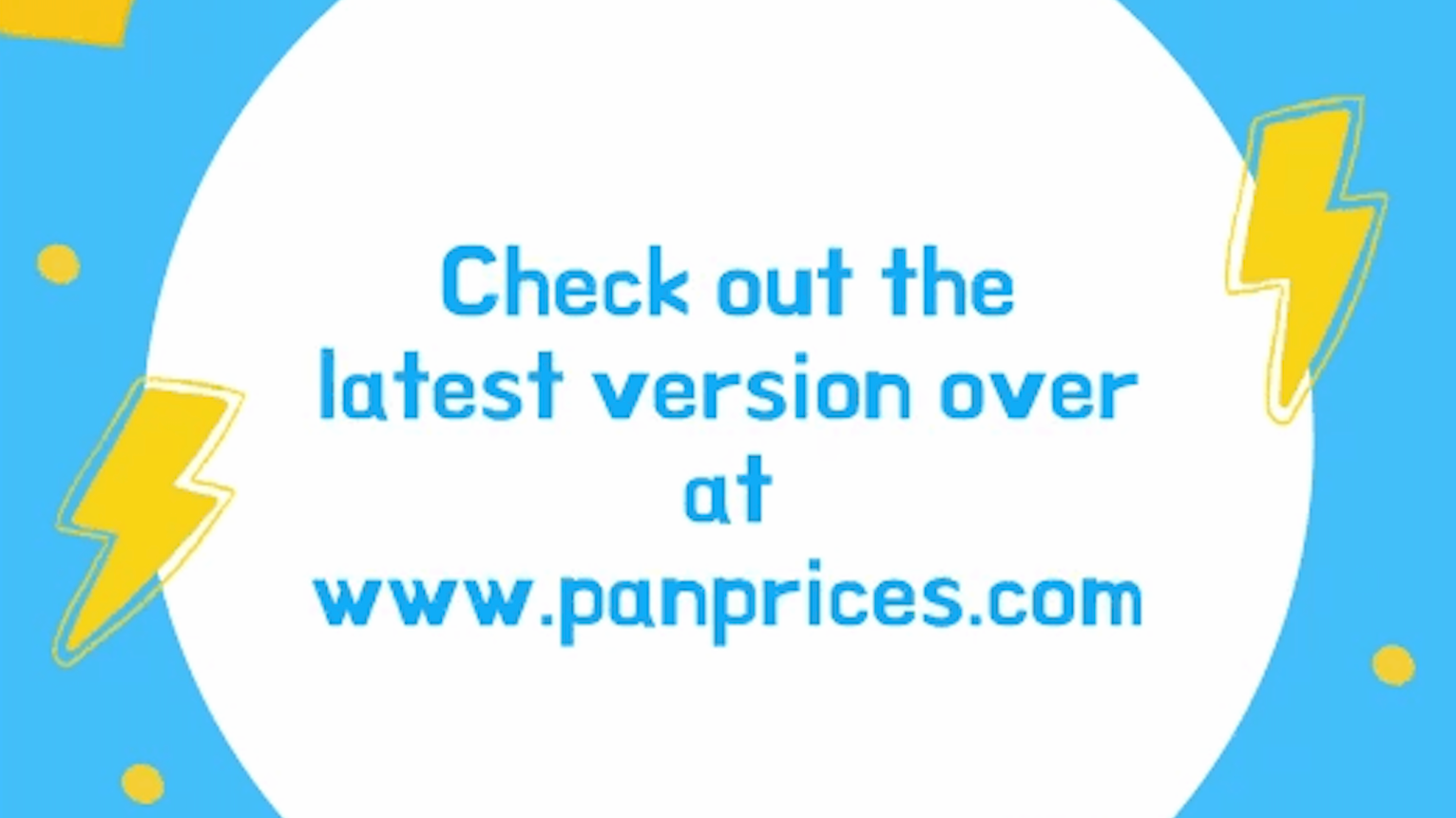 Panprices January 2020 Update
