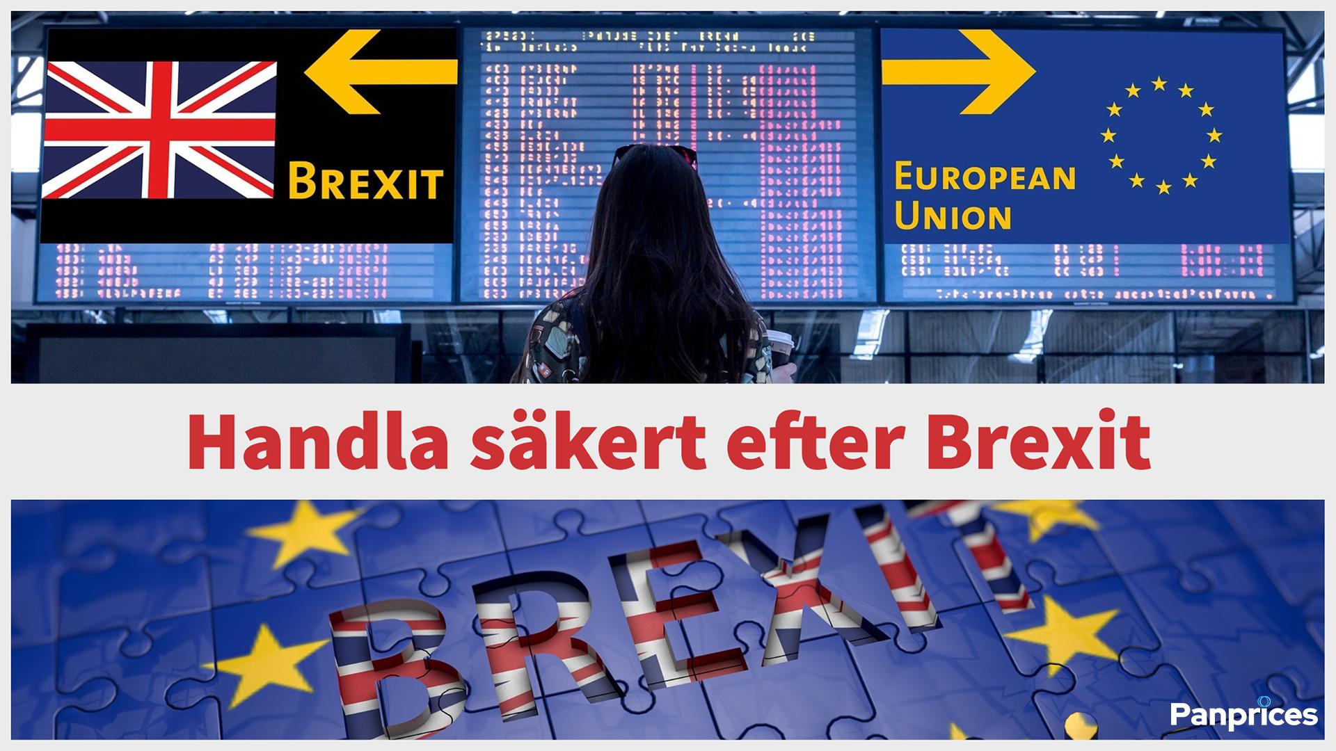 Handla säkert efter Brexit