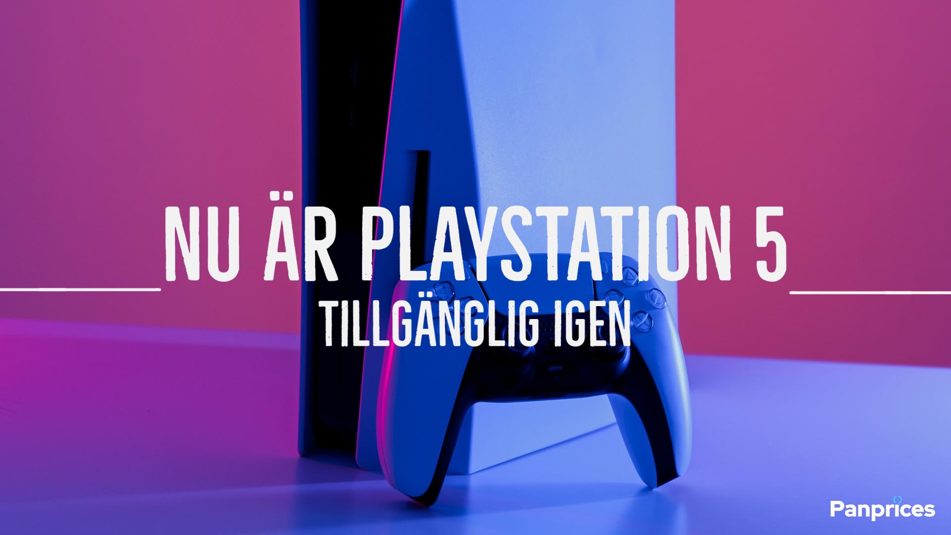 Nu är PlayStation 5 tillgänglig igen