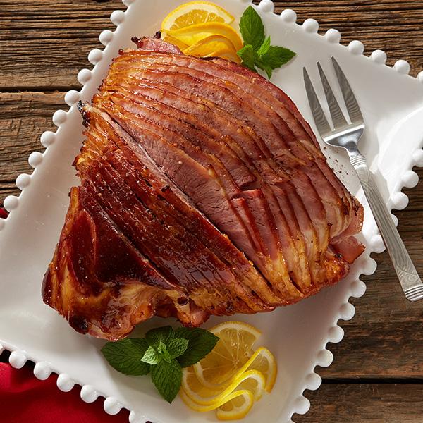 Spiral Ham With Dijon Maple Orange Glaze Recipe Quality Products