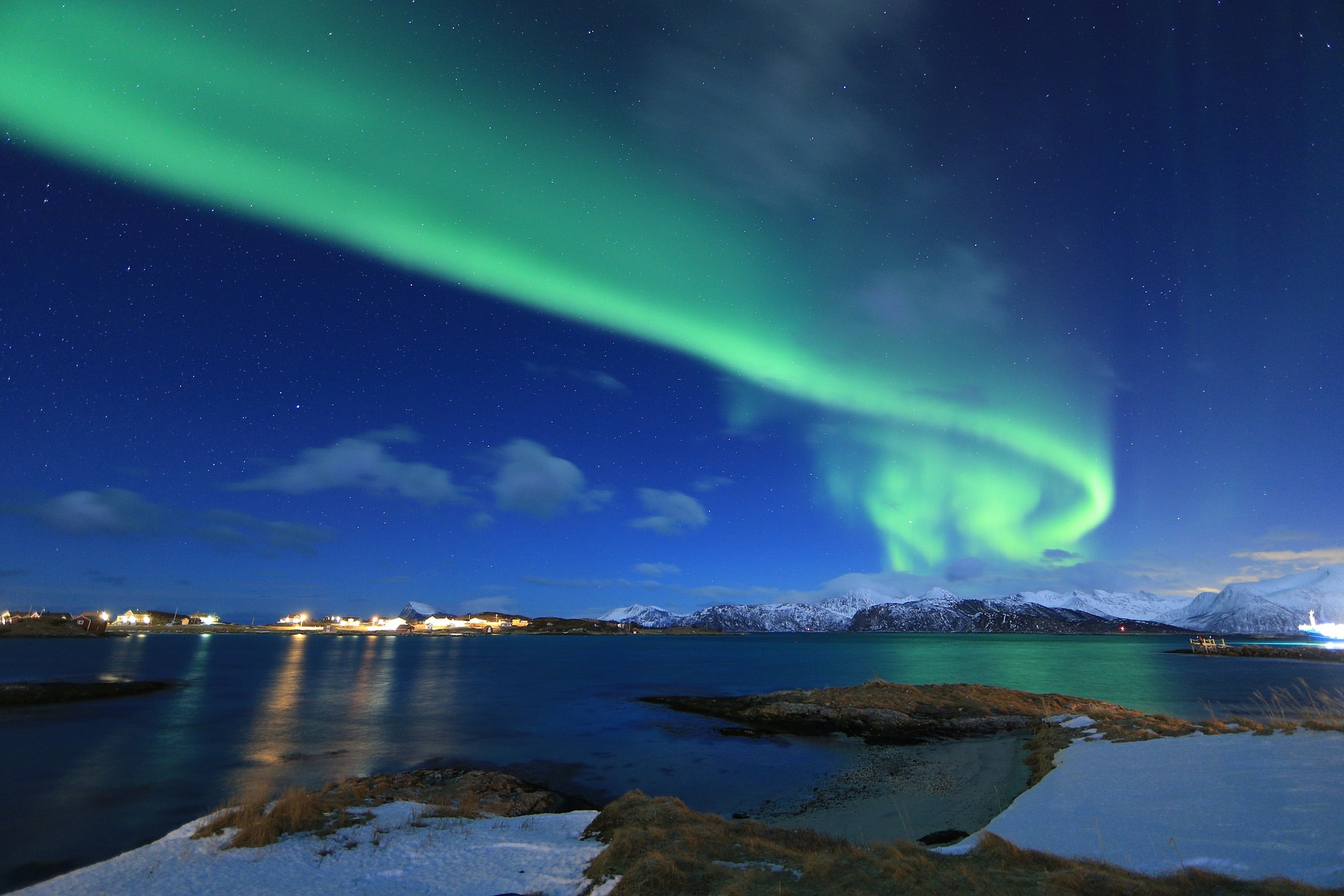Tromso Northern light