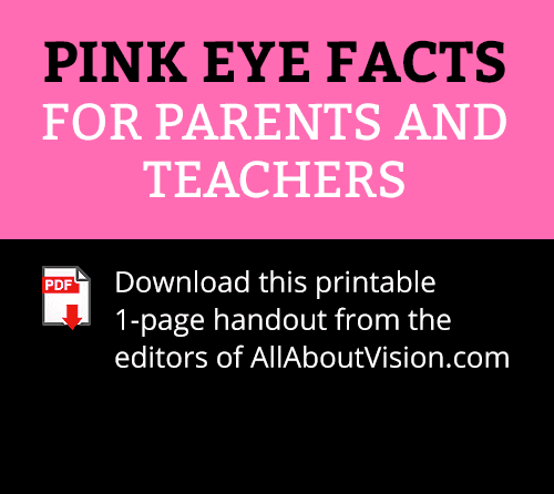 Pink eye facts: Identify symptoms and treat pink eye