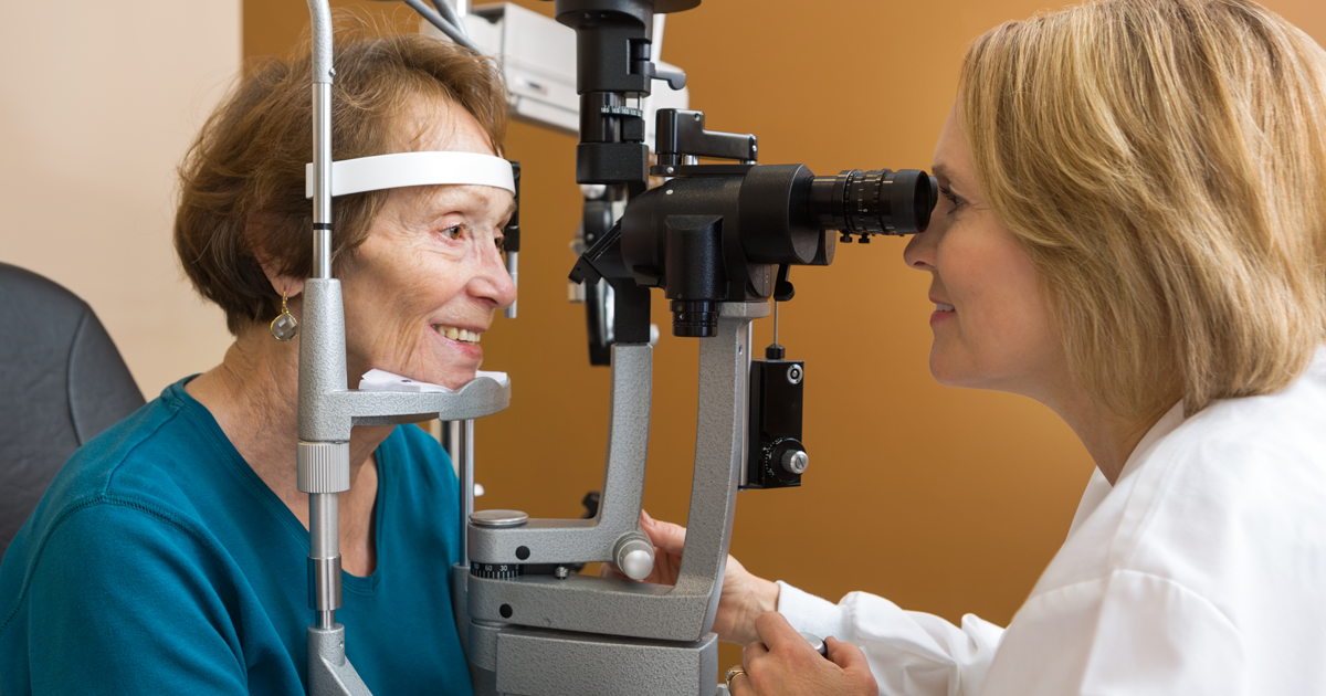 Eye exams for eligible seniors for no out-of-pocket cost