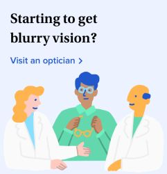 Starting to get blurry vision? Find an optician
