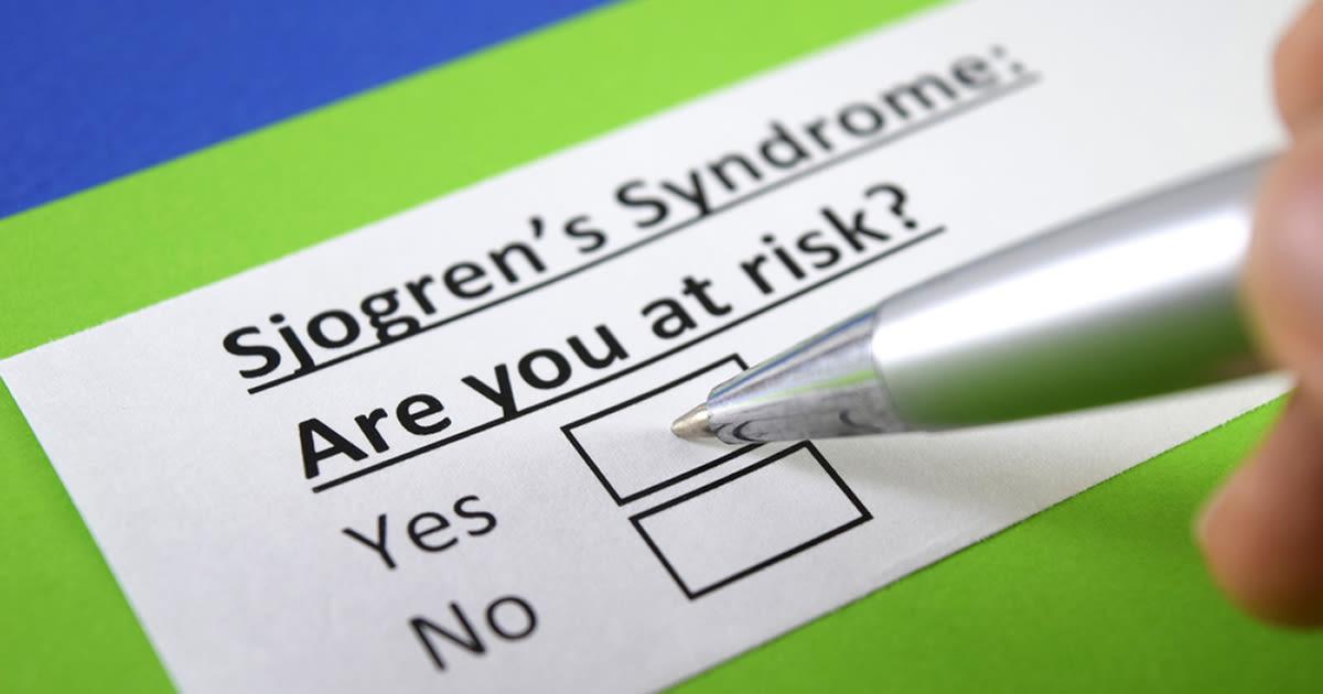 sjogrens check boxes