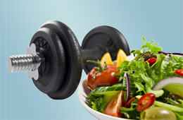 workouts and healthy diets