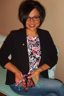 e5599faf922 Real person (Leigh Ann) wearing eyeglasses