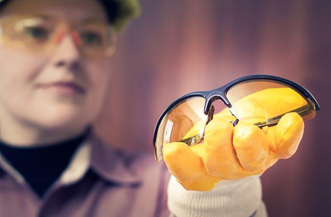 When do you need prescription safety glasses?
