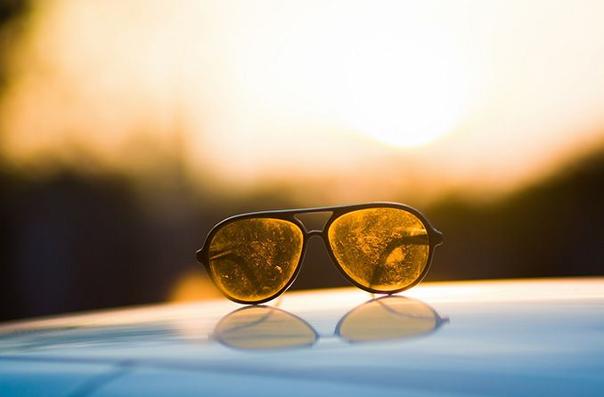 How to fix scratched sunglasses