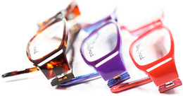 Fun color glasses