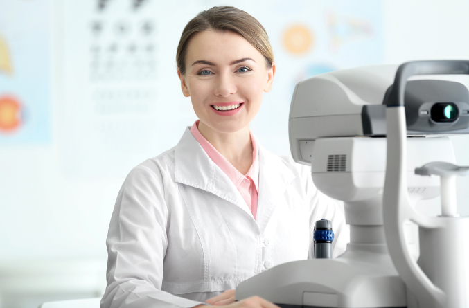 An ophthalmologist is a medical doctor or osteopathic doctor who specializes in the medical and surgical treatment of the eyes.