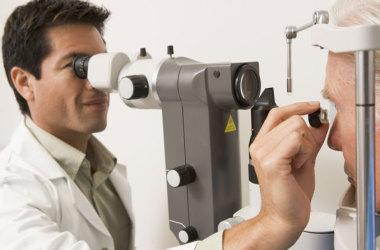 exámenes de visión para diabetes
