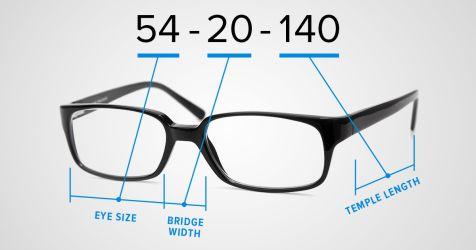 Frame sizes